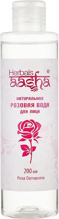 Натуральная розовая вода - Aasha Herbals Gel (без распылителя)