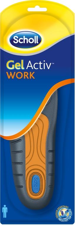 Стельки для активной работы - Scholl GelActiv Work Men