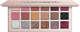 Духи, Парфюмерия, косметика Профессиональная палитра шиммерных теней с глиттерами 18 оттенков P18-3 - Make Up Me