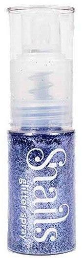 Спрей для волос и тела с блестками - Snails Body And Hair Glitter Spray — фото Light Violet