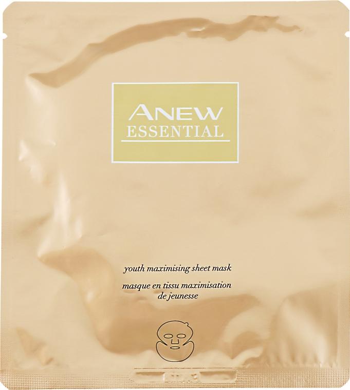 "Тканевая маска для лица ""Максимальная молодость"" - Avon Anew Essential"