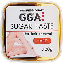 Парфумерія, косметика Паста для шугарингу, жорстка - GGA Professional Sugar Paste Hard
