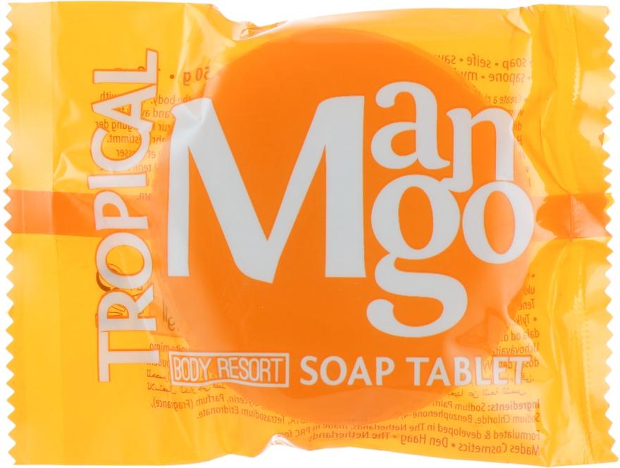 Мыло ''Тропическое манго'' - Mades Cosmetics Body Resort Tropical Mango SoapTablet