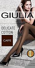"Духи, Парфюмерия, косметика УЦЕНКА Колготки ""Delicate Cotton"" 150 Den, Caffe - Giulia *"