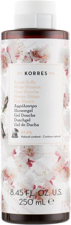 """Гель для душа """"Цветущий сад"""" - Korres Fleur Blanche Shower Gel — фото N1"""