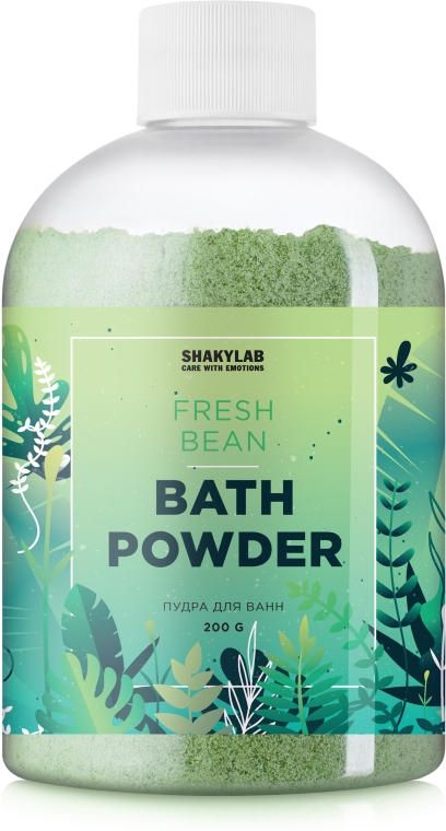 Пудра для ванны «Fresh Bean» - SHAKYLAB Magic Bath Powder