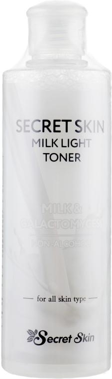 Тонер для лица - Secret Skin Milk Light Toner