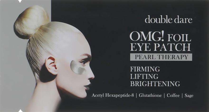 Патчи для зоны вокруг глаз - Double Dare OMG! Foil Eye Patch Pearl Treatment