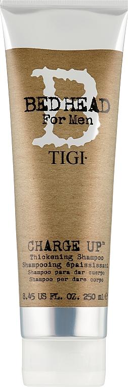 Уплотняющий волосы шампунь для мужчин - Tigi B For Men Charge Up Thickening Shampoo