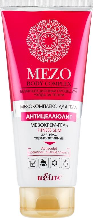 Мезокрем-гель Fitness Slim для тела термоактивный - Bielita Mezo Body Complex