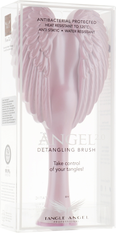Расческа для волос - Tangle Angel 2.0 Detangling Brush Pink