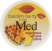 Парфумерія, косметика Бальзам для губ - Bione Cosmetics Honey + Q10 With Vitamin E and Bee Wax Lip Balm