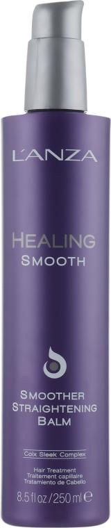 Разглаживающий термозащитный бальзам для волос - L'anza Healing Smooth Smoother Straightening Balm