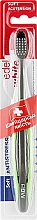 Духи, Парфюмерия, косметика Мягкая акупрессурная зубная щётка с щетиной Konex, зеленая - Edel+White Soft Acu+Tension
