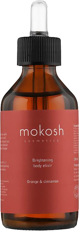 """Эликсир для тела """"Апельсин и корица"""" - Mokosh Cosmetics Body Elixir"""