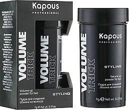 Парфумерія, косметика Пудра для створення об'єму на волоссі - Kapous Professional Volume UP Powder For Hair Volumetrick