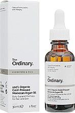 Духи, Парфюмерия, косметика Органическое марокканское аргановое масло холодного отжима - The Ordinary 100% Organic Cold-Pressed Moroccan Argan Oil