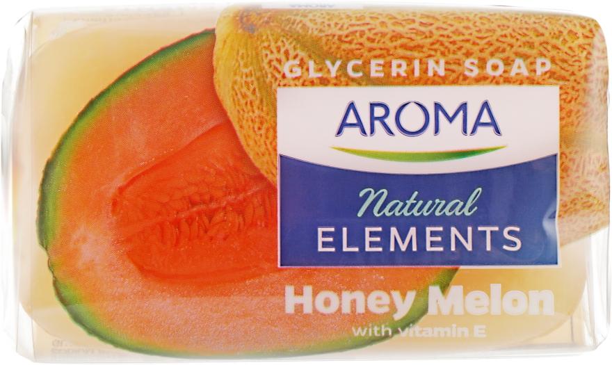 "Туалетное мыло ""Медовая дыня"" - Aroma Natural Elements Toilet Soap Honey Melon"