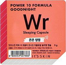 Духи, Парфюмерия, косметика Ночная маска-капсула, лифтинг - It's Skin Power 10 Formula Goodnight Sleeping Capsule WR