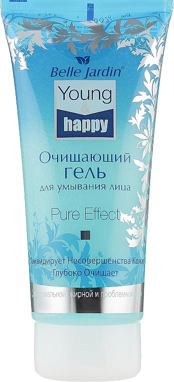 Очищающий гель для умывания лица - Belle Jardin Young & Happy Pure Effect Gel