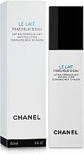 Духи, Парфюмерия, косметика Аква-молочко для снятия макияжа с защитой от загрязнений окружающей среды - Chanel Le Lait Fraicheur D'eau