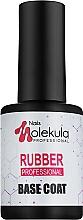 Духи, Парфюмерия, косметика База каучуковая для гель-лака - Nails Molekula Base Coat Rubber