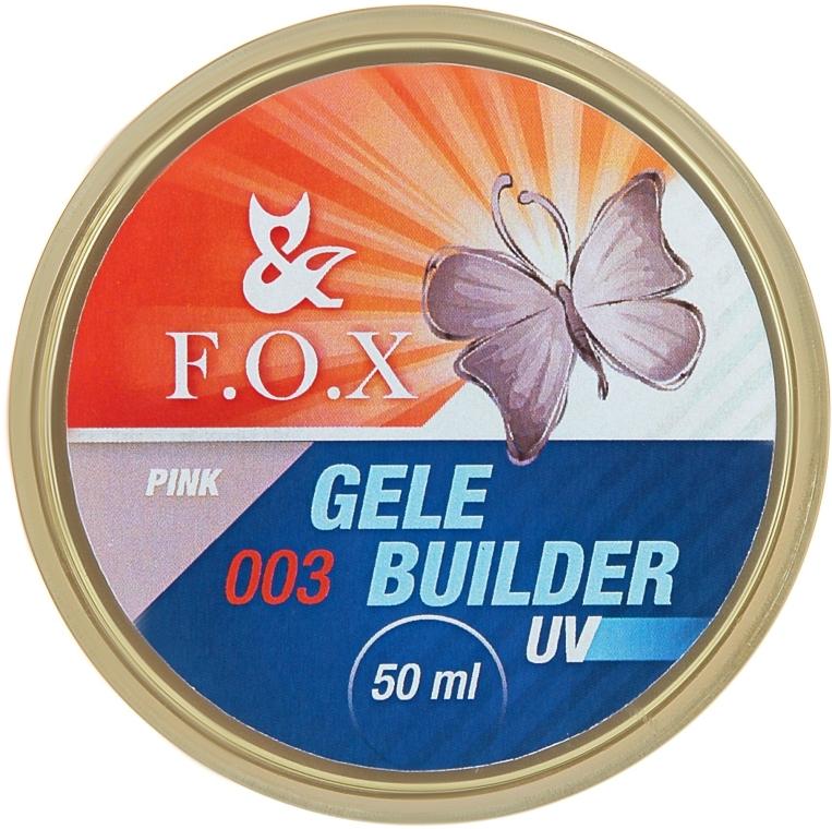 Моделирующий гель-желе - F.O.X Gele Builder Gel UV Pink 003