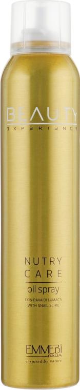 Масло-спрей для волос восстанавливающее - Emmebi Italia Beauty Experience Nutry Care Oil Spray