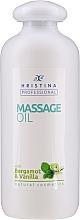 Духи, Парфюмерия, косметика Масло для массажа с бергамотом и ванилью - Hristina Professional Bergamot & Vanilla Massage Oil