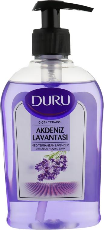 Жидкое мыло с ароматом средиземноморской лаванды - Duru Floral Sensations