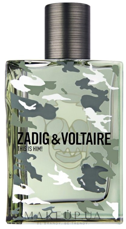 Zadig & Voltaire This Is Him No Rules - Туалетная вода — фото 50ml