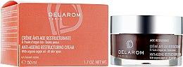 Духи, Парфюмерия, косметика Антивозрастной крем для реструктуризации кожи - Delarom Anti-age Restructuring Cream
