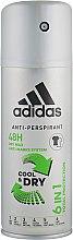 Духи, Парфюмерия, косметика Дезодорант - Adidas Anti-Perspirant Cool&Dry 6 in 1 48H