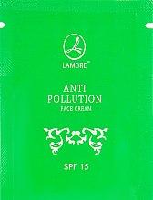 Духи, Парфюмерия, косметика Защитный крем от негативного воздействия окружающей среды - Lambre Anti Pollution SPF15 (пробник)