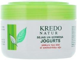 Духи, Парфюмерия, косметика Йогурт для лица и тела с облепиховым маслом - Dzintars Kredo Natur Yogurt For Face and Body