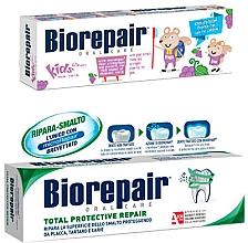 Парфумерія, косметика Набір - Biorepair (toothpaste/50 + toothpaste/75ml)