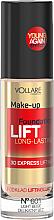 Духи, Парфюмерия, косметика Тональный крем лифтингующий с пептидами - Vollare Cosmetics Make Up Foundation Lift 3D Long-Lasting