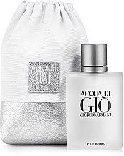 """Парфумерія, косметика Подарунковий кисет для парфумерії, білий """"Perfume Space"""" - MakeUp"""
