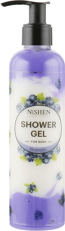 "Гель для душа ""Черника"" - Nishen Bluberry Shower Gel"
