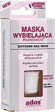 Духи, Парфюмерия, косметика Кондиционер-маска для отбеливания ногтей - Ados Whitening Nail Mask