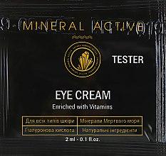 Духи, Парфюмерия, косметика Крем для кожи вокруг глаз - Satara Mineral Active Eye Cream (пробник)