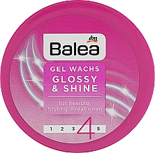 Духи, Парфюмерия, косметика Гель-воск для волос №4 - Balea Gel Wachs Glossy & Shine №4