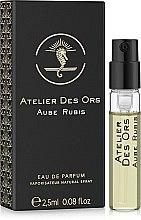 Духи, Парфюмерия, косметика Atelier Des Ors Aube Rubis - Парфюмированная вода (пробник)