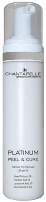 Платиновая очищающая пилинг-пенка - Chantarelle Platinum Peel & Cure Pre-Peel Foam 18% pH 4.5