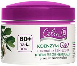 Духи, Парфюмерия, косметика Восстанавливающий ночной крем - Celia Coenzyme Q10 60+