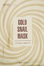Духи, Парфюмерия, косметика Тканевая маска для лица с муцином улитки и золотом - The Orchid Skin Orchid Gold Snail Mask