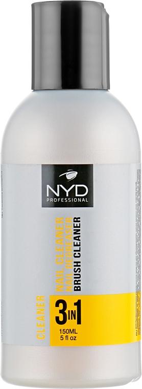 Жидкость для обезжиривания и снятия липкого слоя - NYD Professional 3 in 1 Cleaner