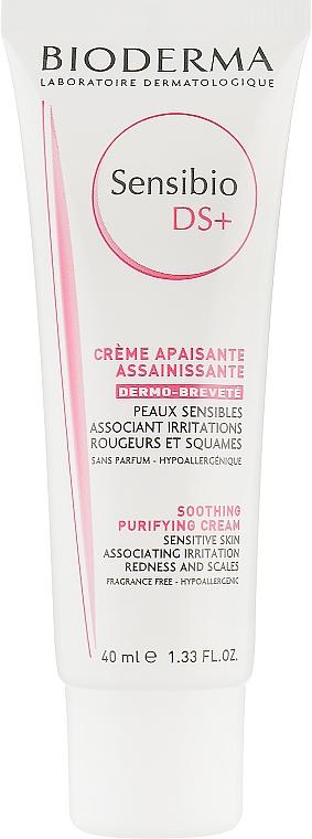 Очищающий крем - Bioderma Sensibio DS+ Soothing Purifying Cleansing Cream