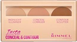 Парфумерія, косметика Набір для контурингу - Rimmel Insta Conceal & Contour Palette