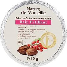 Духи, Парфюмерия, косметика Бомбочка для ванны с ароматом ягод годжи и маслом ши - Nature de Marseille Goji&Shea Butter